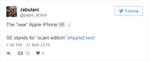 Funny-iPhone-SE-tweets