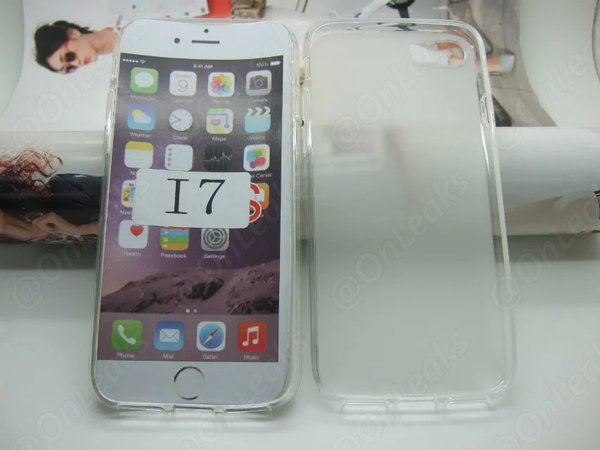 หลุดเร็วไปมั้ย !! ภาพหลุดเคส iPhone 7 แสดงให้เห็น Dual Camera และไม่มีรูเสียบหูฟัง 3.5 มม. ??