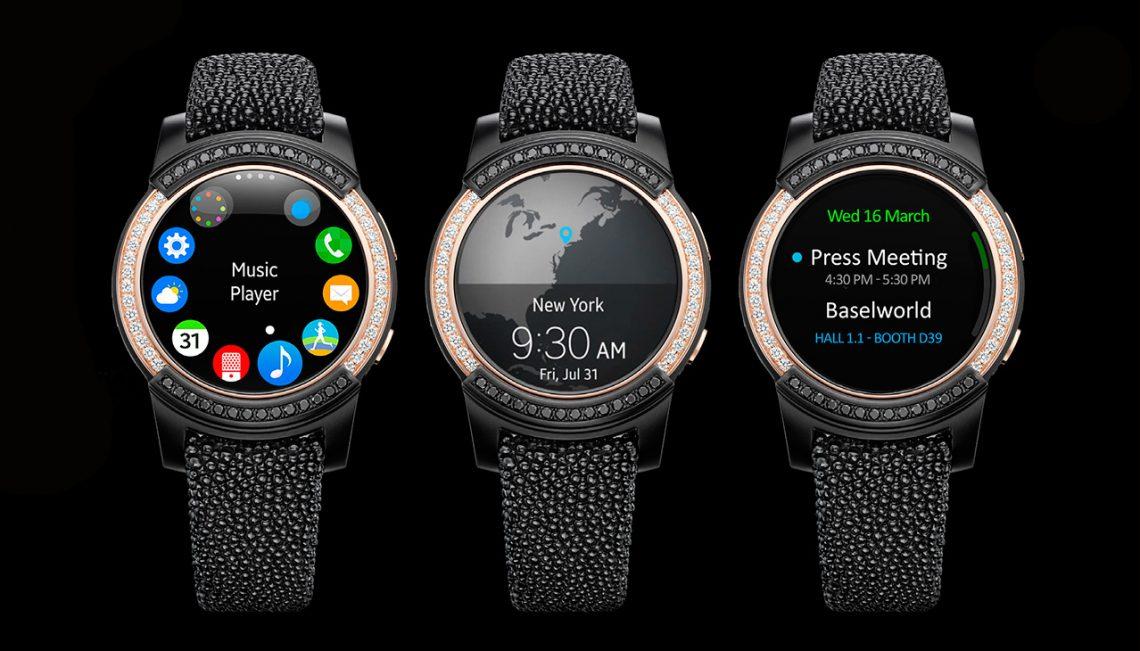 ที่สุดของความหรูหรา !! Samsung Gear S2 Limited Edition โดย GRISOGONO ประดับด้วยเพชร และวัสดุแบบพรีเมี่ยม
