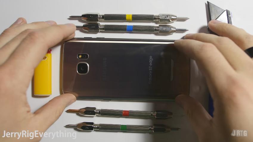 [มีคลิป] จับ Samsung Galaxy S7 Edge มาเทสความแข็งแรงแบบสุดโต่ง!!!มาดูเลยจะรอดหรือไม่??