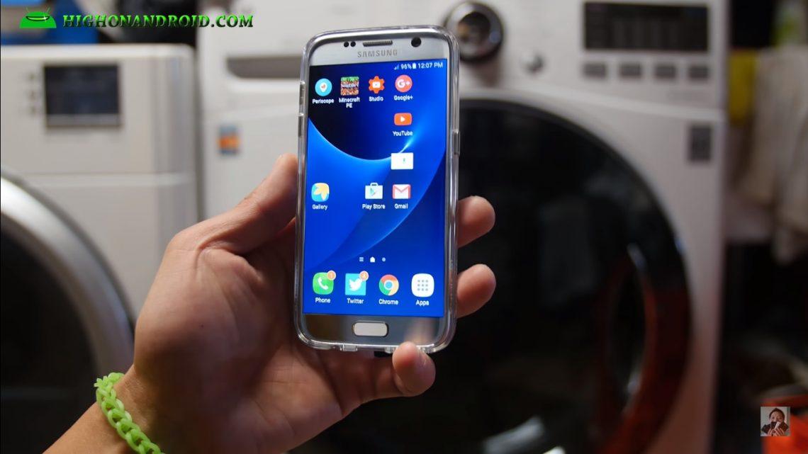 ท้าประลอง !! ชมคลิปลองนำ Samsung Galaxy S7 ไปปั่นในเครื่องซักผ้าเป็นเวลา 45 นาที !!