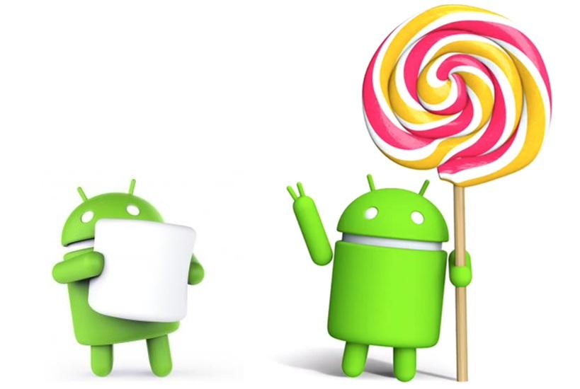 ผลสำรวจ Android Lollipop มีส่วนแบ่งจากผู้ใช้ Android เยอะที่สุด รองลงมาคือ Kitkat ซึ่ง Marshmallow ยังมีส่วนแบ่งเพียง 2.3 %