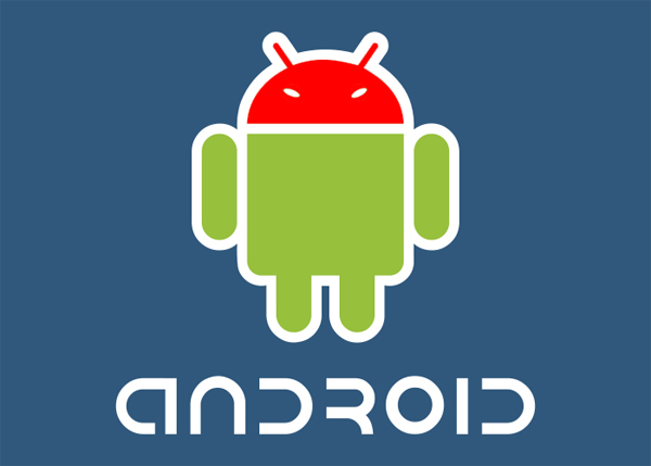 google android angry logo
