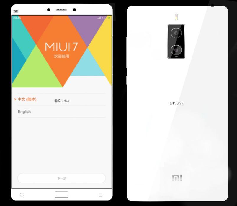 โหดมั้ยล่ะ !! ข่าวลือ Xiaomi Note 2 อาจจะมากับชิป Snapdragon 823 แรม 6 GB และเทคโนโลยี 3D Touch
