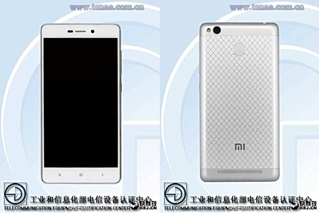 ภาพหลุด !! Xiaomi Redmi 3 ร่างเดิม เพิ่มเติมระบบสแกนลายนิ้วมือ