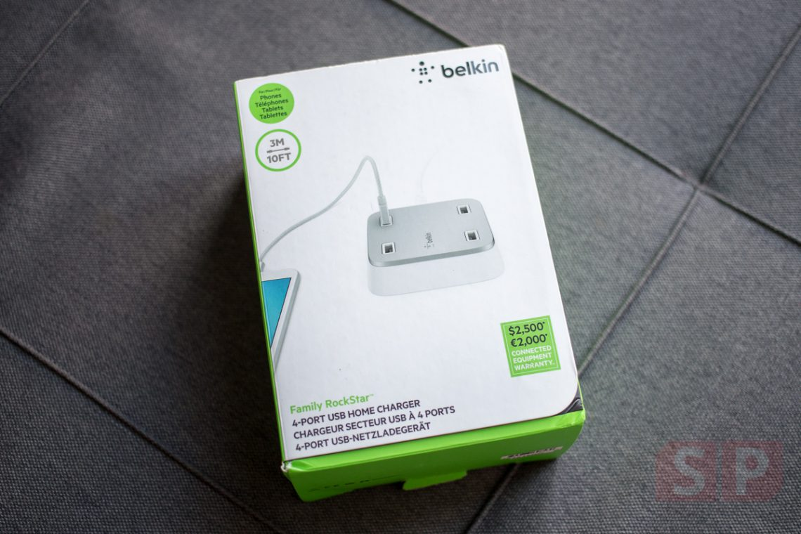 [Review] รีวิว Belkin Family Rockstar USB Charger สุดแรงในราคา 2,990 บาท