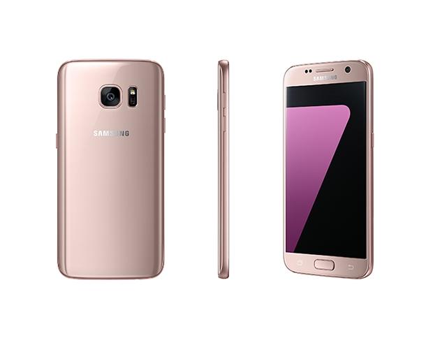 เพิ่มเติมความฟรุ้งฟริ้ง !! Samsung Galaxy S7 และ Galaxy S7 Edge เพิ่มสี Pink Gold วางขายในประเทศเกาหลี !!
