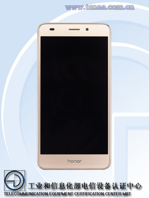 The honor 5C gets TENAA certification