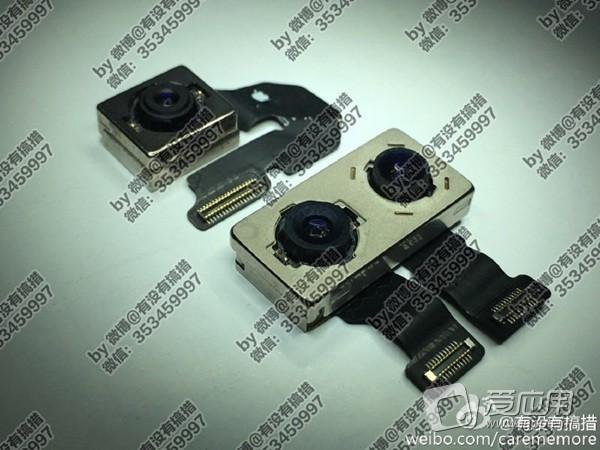 กล้องคู่กำลังมาแรง !! ภาพหลุดเซ็นเซอร์กล้องของ iPhone 7 และ iPhone 7 Plus แบบ Dual Camera