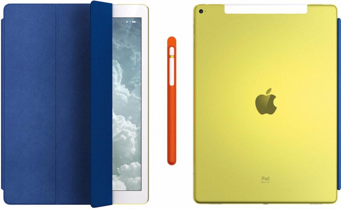 Apple ทำ iPad Pro 12.9 รุ่นพิเศษสำหรับประมูลการกุศล