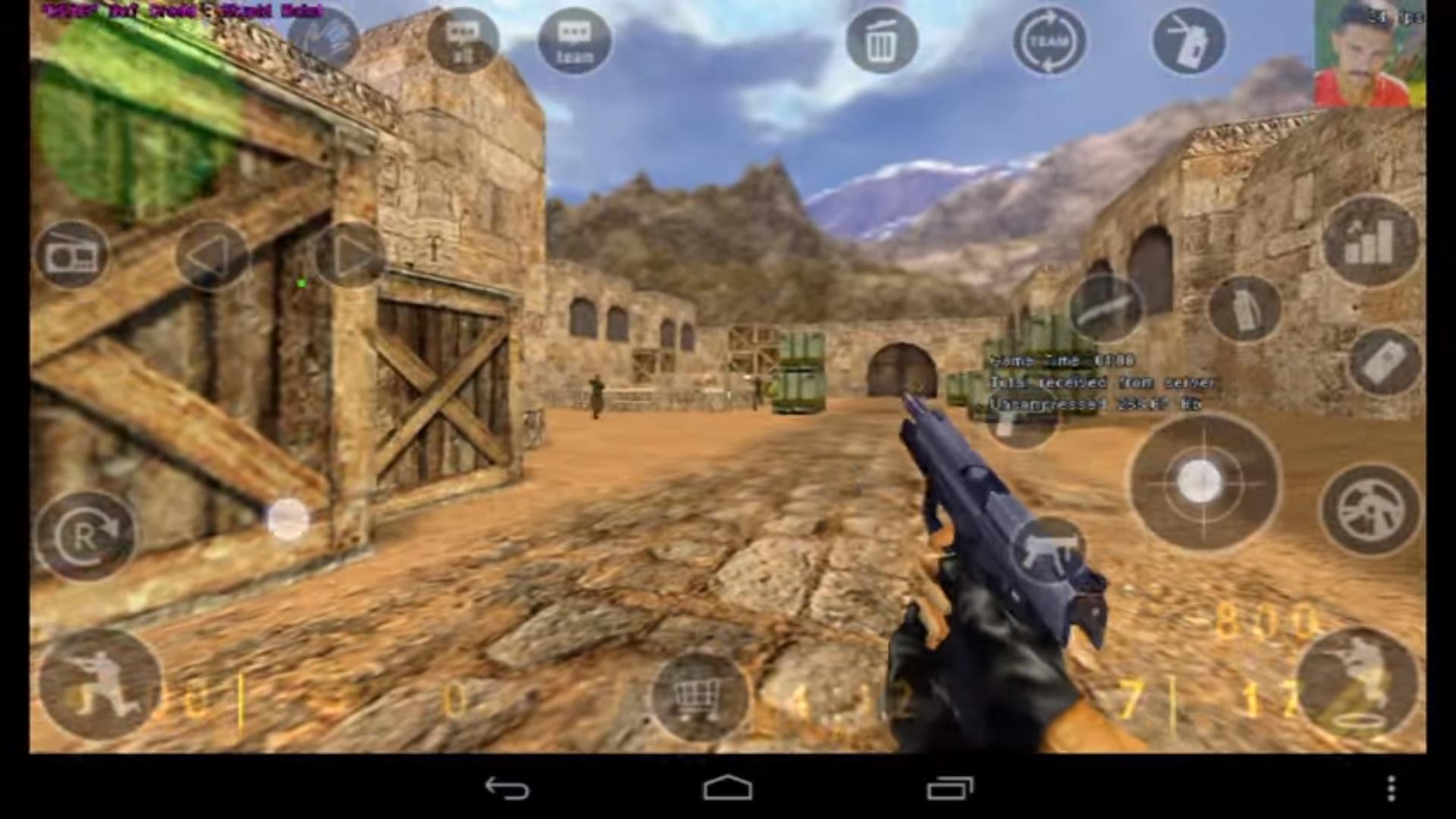 พร้อมจะลุยกันมานานแล้ว !! ชมคลิปเกม Counter-Strike รันบนแท็บเล็ต Android จะเวิร์คมั้ย มาดูกัน