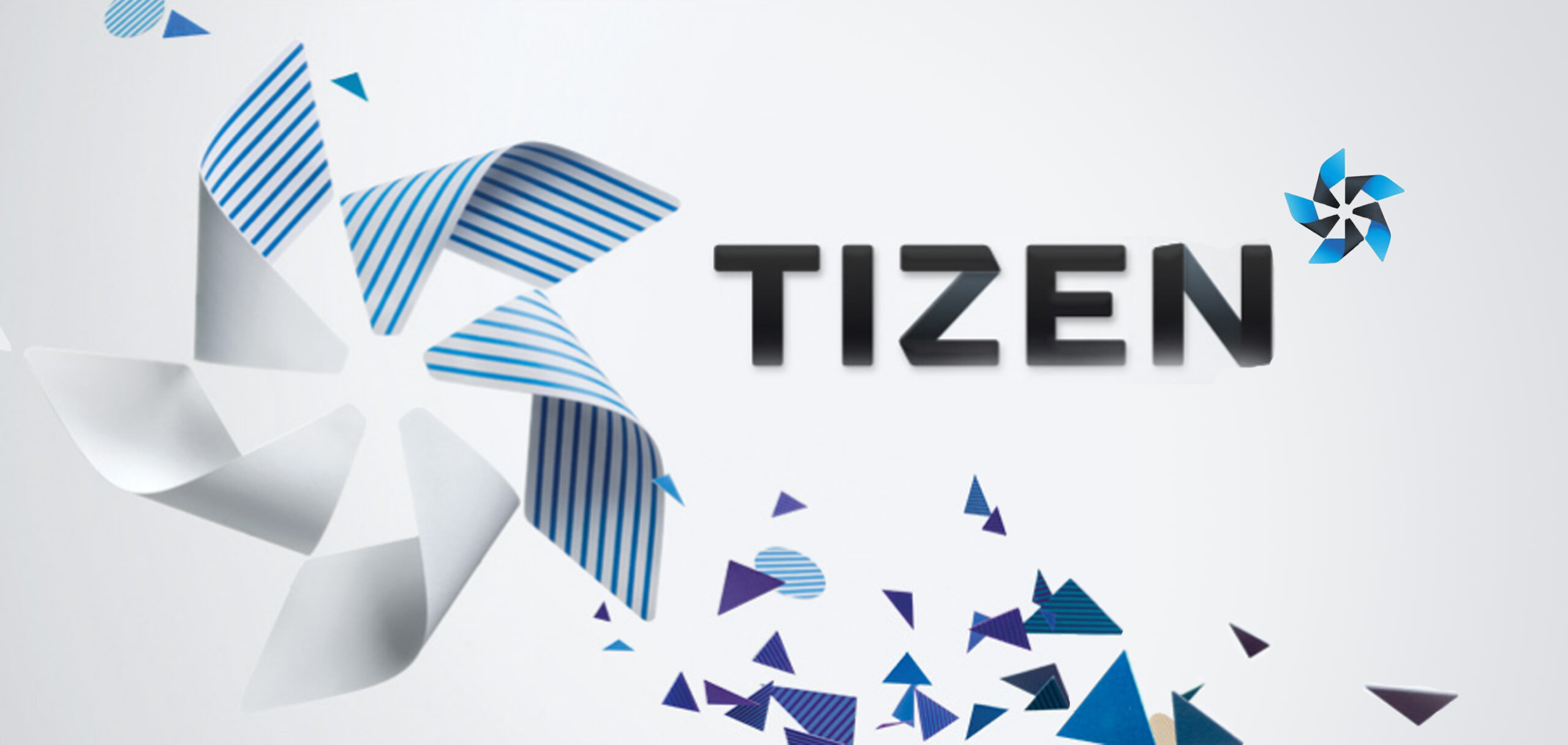 Tizen logo wallpaper scaled