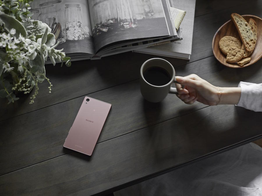 Z5 Remium Rose Gold Table