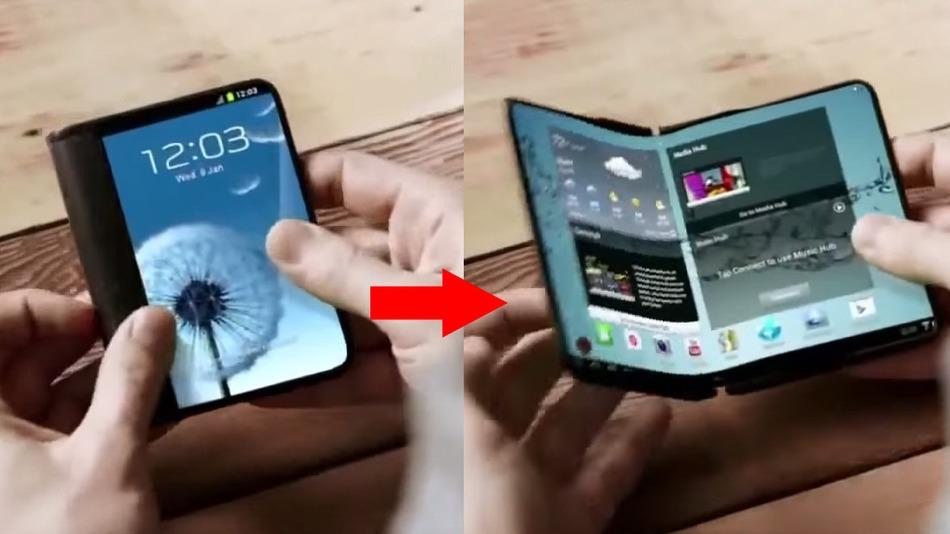 ลือ !! Samsung จะเปิดตัวสมาร์ทโฟนหน้าจอพับได้ในปี 2017 ในชื่อ Galaxy X และมีความละเอียดถึง 4K !!