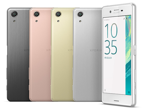 xperia x performance colors