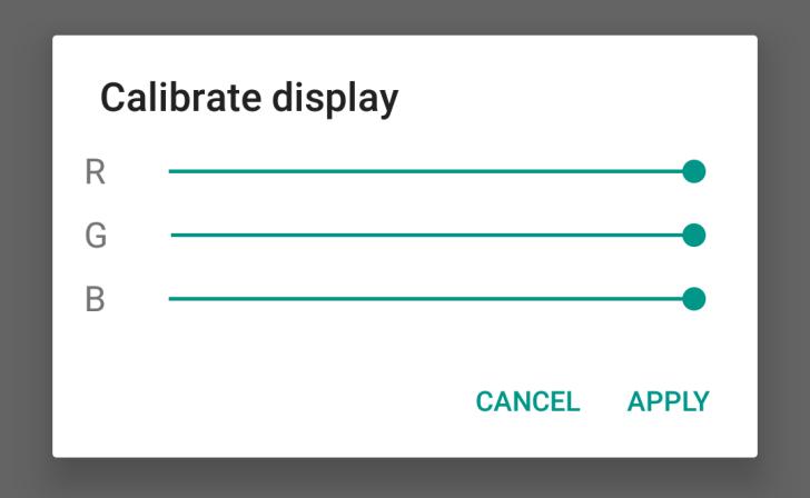 Display-calibration