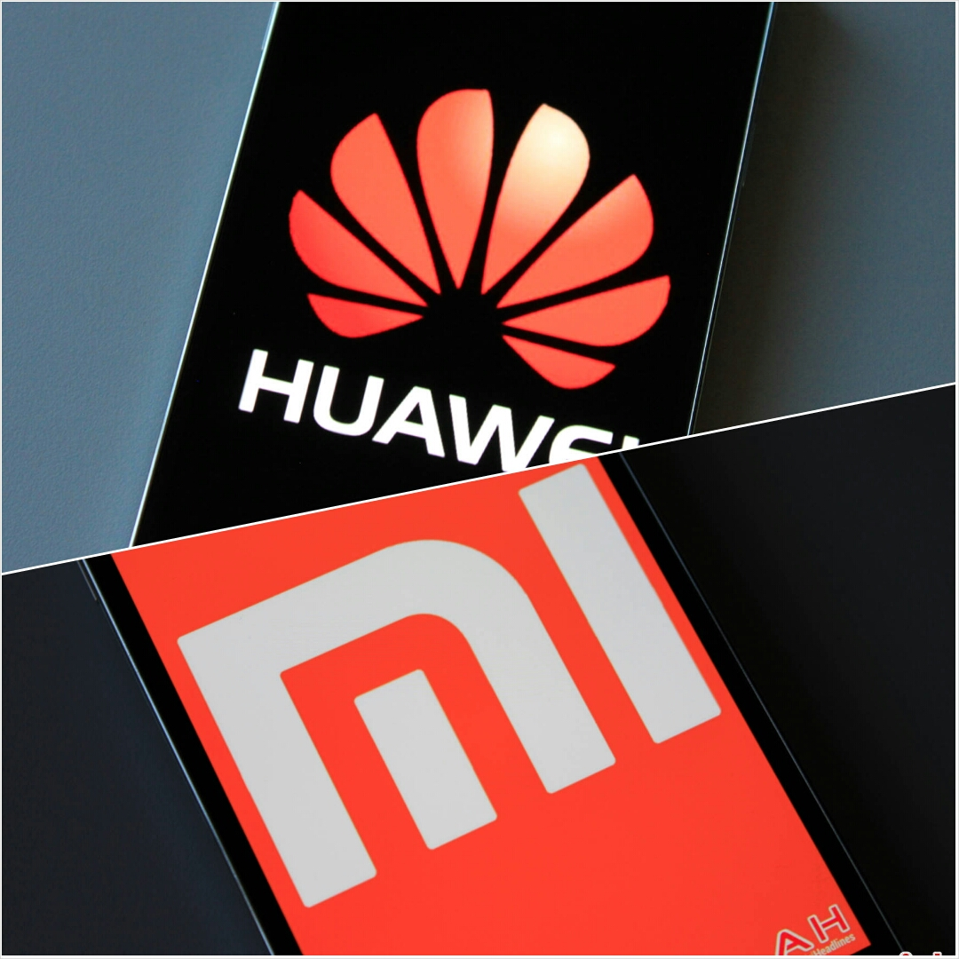 Huawei-and-Xiaomi-logo