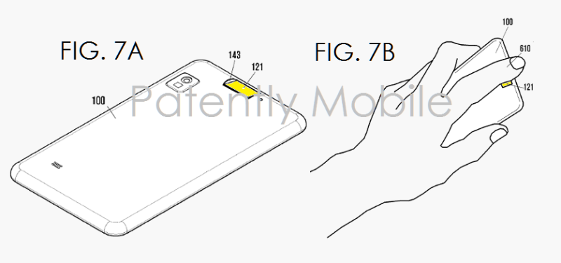 Samsung-finger-scanner-patents