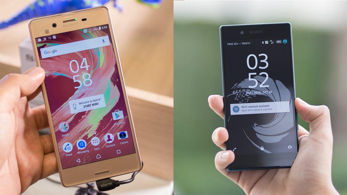 มันใช่หรอ!! ที่จะซื้อ Sony Xperia X ถ้ามันราคา 21,990 บาทเท่ากับ Sony Xperia Z5