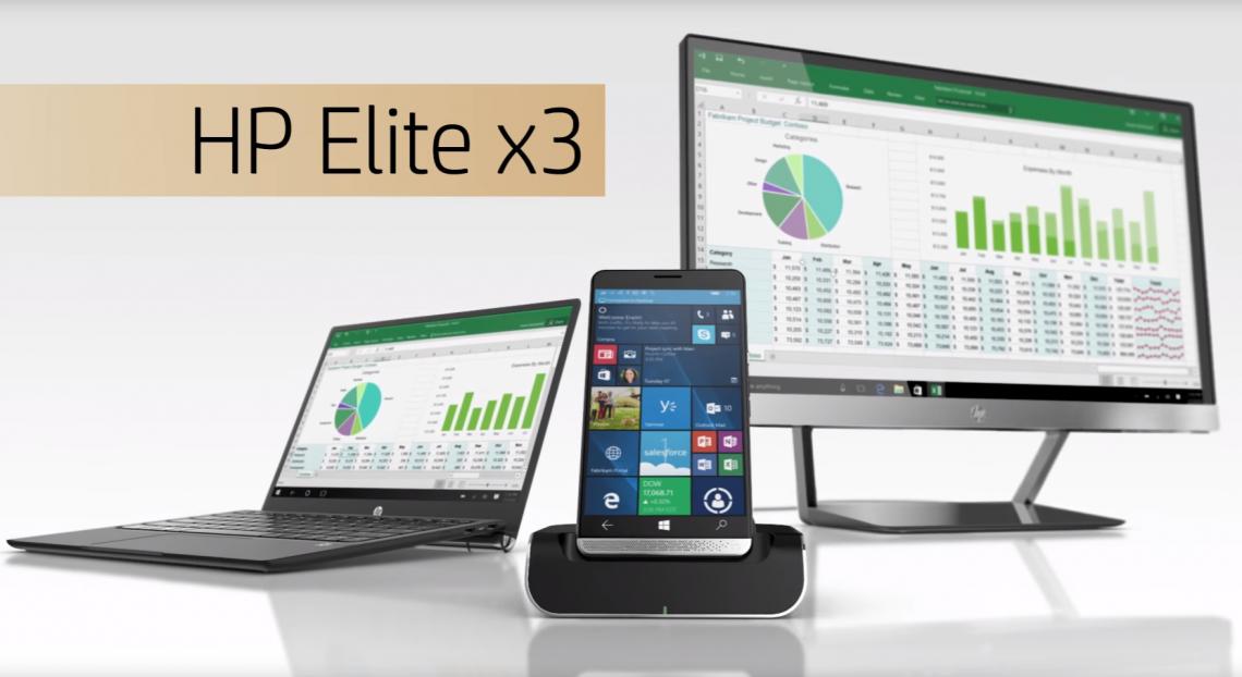 HP เผยวิดีโอ Elite X3 ที่มาพร้อมกับ Windows 10 Mobile และสเปคระดับเรือธง !!