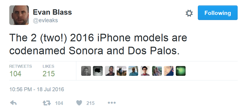 Tweet-from-Evan-Blass-says-that-Apple-will-release-just-two-new-iPhone-models-this-year