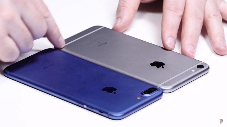 ชมคลิป Hands On Prototype iPhone 7 Plus ที่มาพร้อมกับสีฟ้า ...