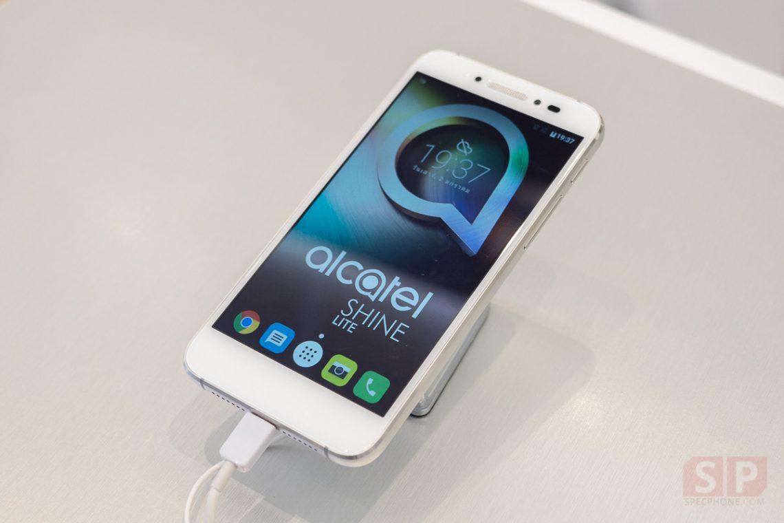 [Hands-on] ลองจับ Alcatel Shine Lite บอดี้โลหะ + กระจก, Android 6.0, Ram 2 GB มีสแกนนิ้ว ในราคาโปรฯ 3,990 บาท!!