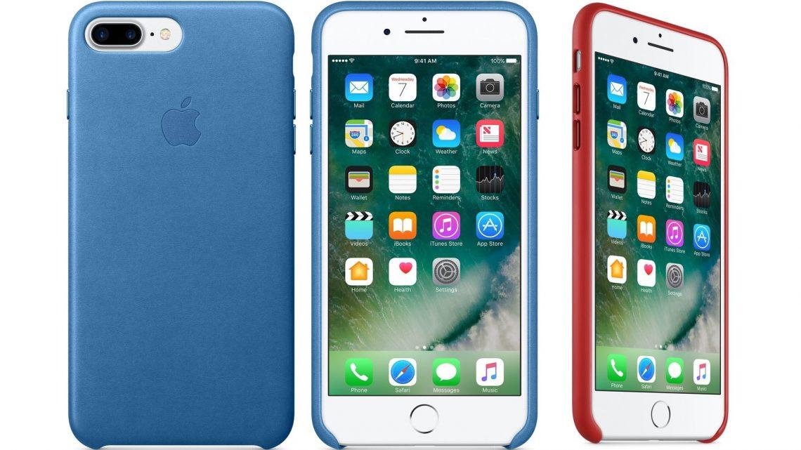 Apple วางขายเคสหนังสำหรับ iPhone 7 และ iPhone 7 Plus มากับปุ่มกดแบบอะลูมิเนียม !!