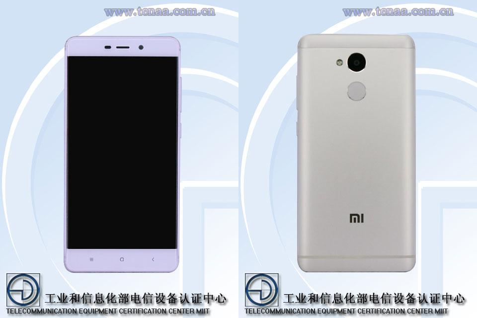 หลุดสเปค Xiaomi Redmi 4 บน TENAA หน้าจอ 5 นิ้ว ใช้ชิป Helio P10 แรม 3 GB แบต 4,000 mAh ในราคา 3,600 บาท !!