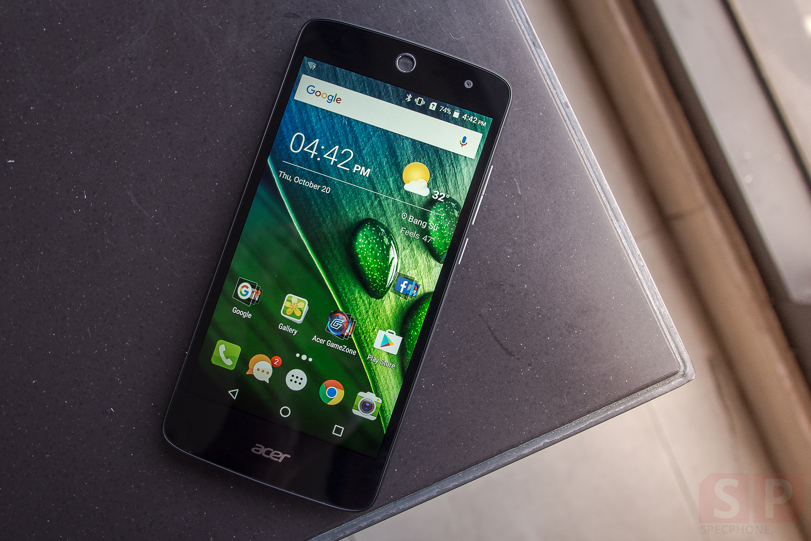 Review Acer Liquid Zest4G SpecPhone 161020 10