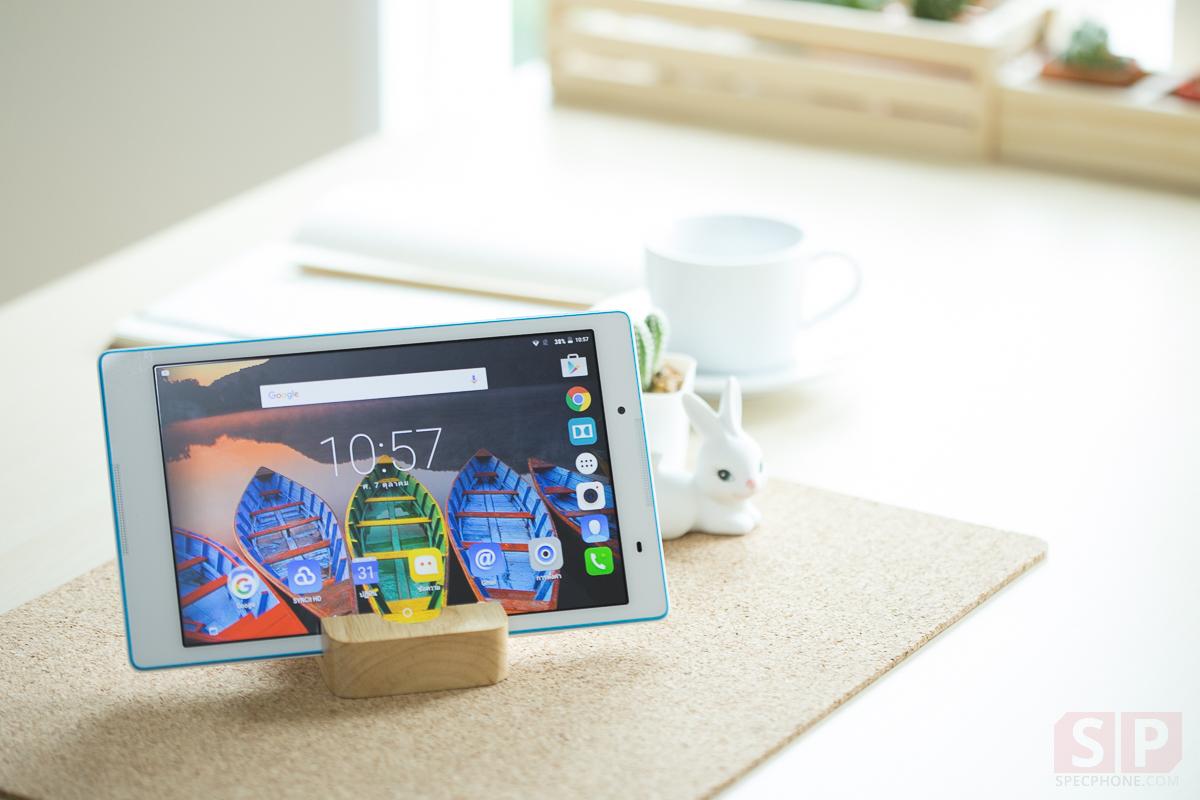 [Review] รีวิว Lenovo Tab 3 8″ แท็บเล็ตจอใหญ่ ใส่ซิม 4G ได้ ในราคาเพียง 6,490 บาท