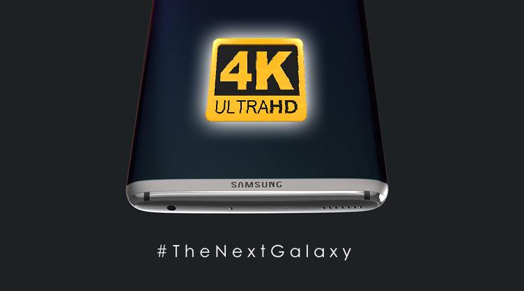 ลือ !! Samsung Galaxy S8 จะมากับหน้าจอความละเอียด 4K เพื่อรองรับ VR อย่างเต็มที่ !!
