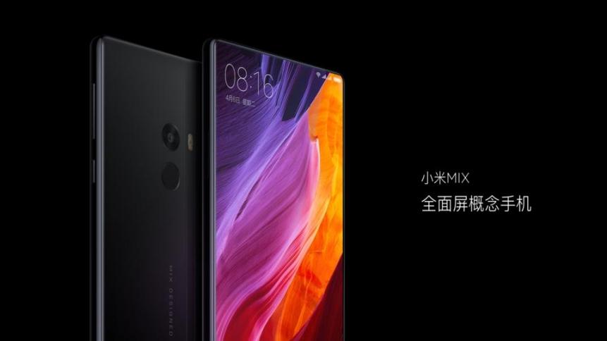 เปิดตัว Xiaomi Mi MIX หน้าจอ 6.4 นิ้ว ไร้ขอบเกือบ 100% สเปค SD 821 + Ram 6 GB ราคาเริ่มต้น 18,000 บาท!!