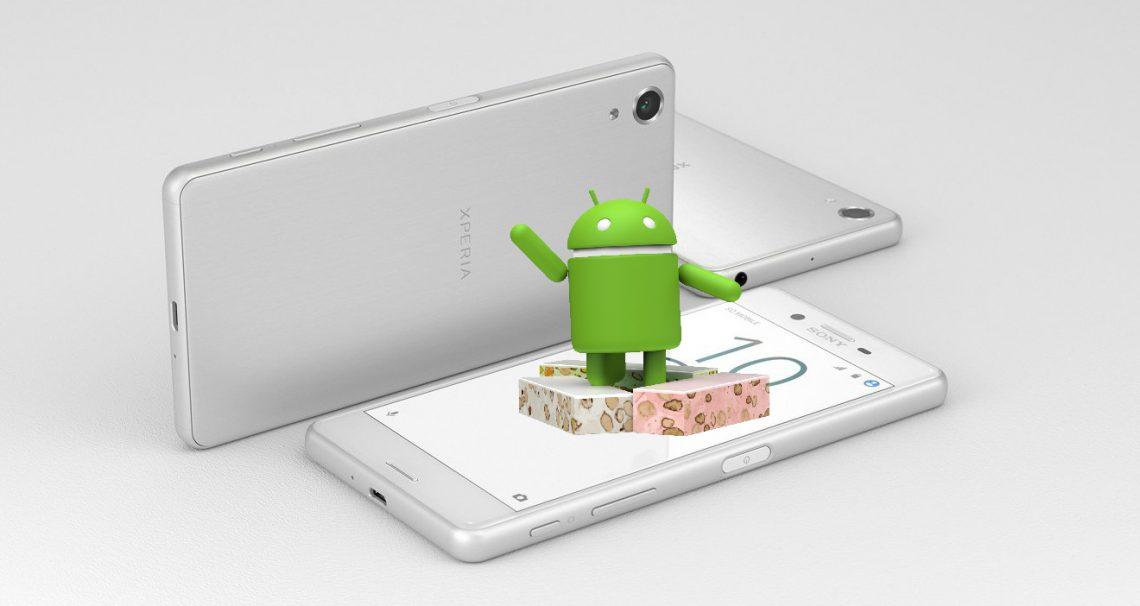 Sony ปล่อยอัพเดท Android 7.0 Nougat ให้กับ Sony Xperia X Performance แล้วในวันนี้ !!