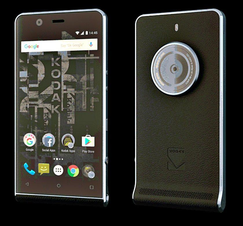 Kodak Ektra Android phone