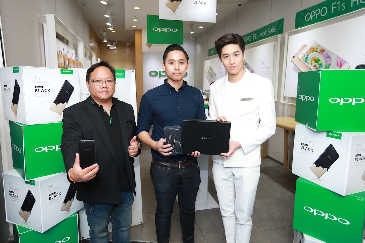 OPPO-F1s-Classic-Black-Edition-First-Sale-Day