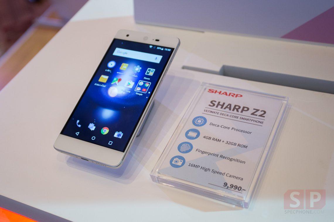 [Hands-on] ลองจับ Sharp M1 และ Sharp Z2 มือถือมาตรฐานญี่ปุ่น ในราคาเริ่มต้น 8,990 บาท!!