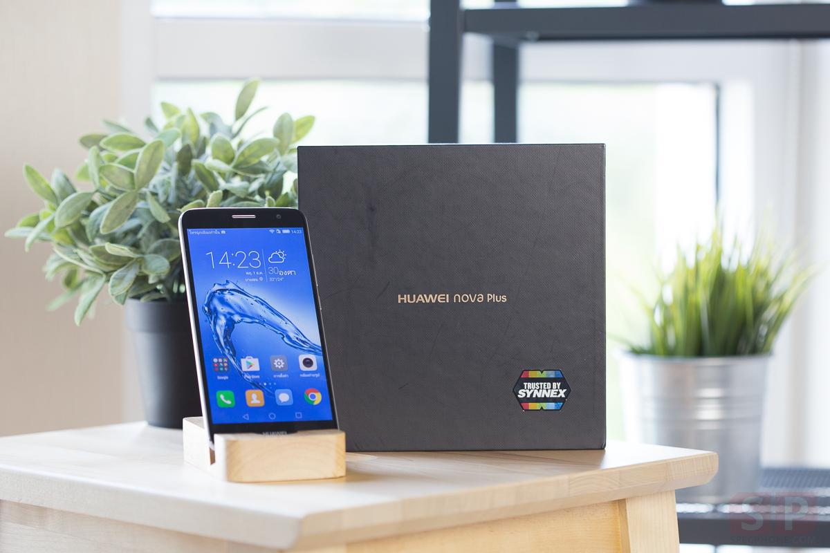 [Review] Huawei Nova Plus มือถือดีไซน์แจ่ม Snapdragon 625 กล้องหลัง OIS/ 4K ราคา 12,990 บาท!!