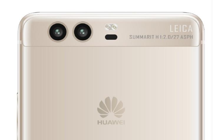 หลุดภาพทางการ Huawei P10 ขอบจอโค้ง เซ็นเซอร์สแกนนิ้วด้านหน้า กล้องคู่ Leica