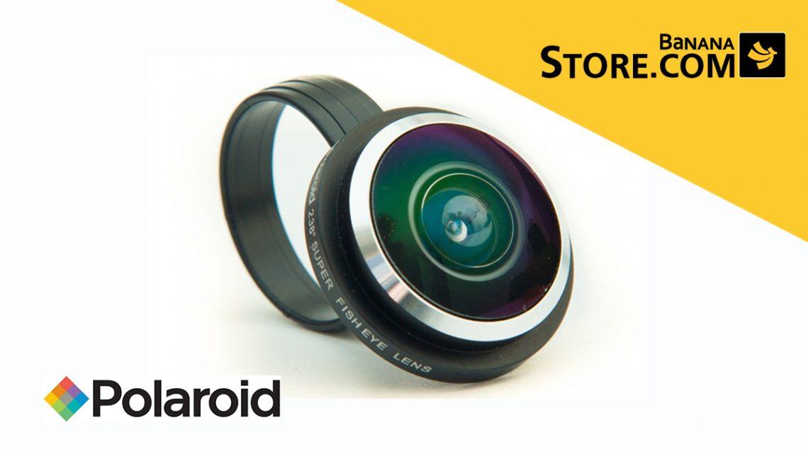 เลนส์เสริม Polaroid Fisheye Smart Lens ลดราคาเหลือ 390 บาท ที่ BananaStore