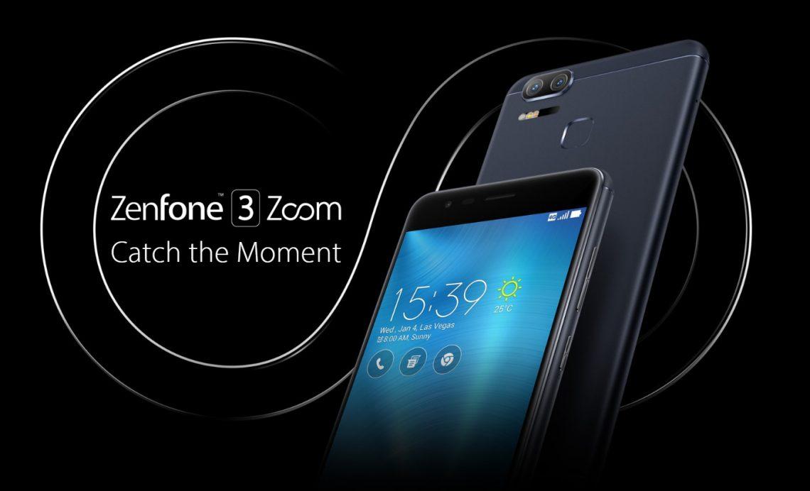 เปิดตัว ASUS Zenfone 3 Zoom กล้องคู่ตามคาด ซูมได้ 2.3 เท่า พร้อม Portrait Mode