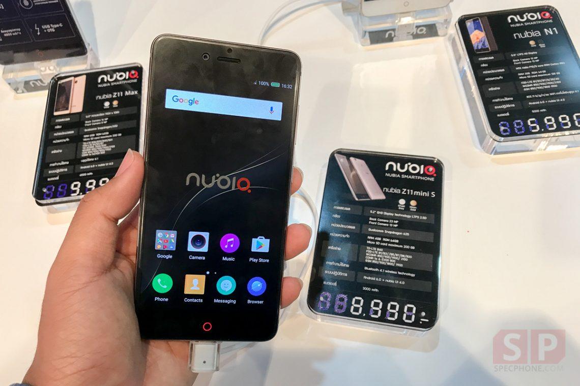 [Hands-on] ลองจับ Nubia Z11 Mini S สเปคคุ้ม ๆ กล้อง 23 ล้าน ในราคา 8,990 บาท!!