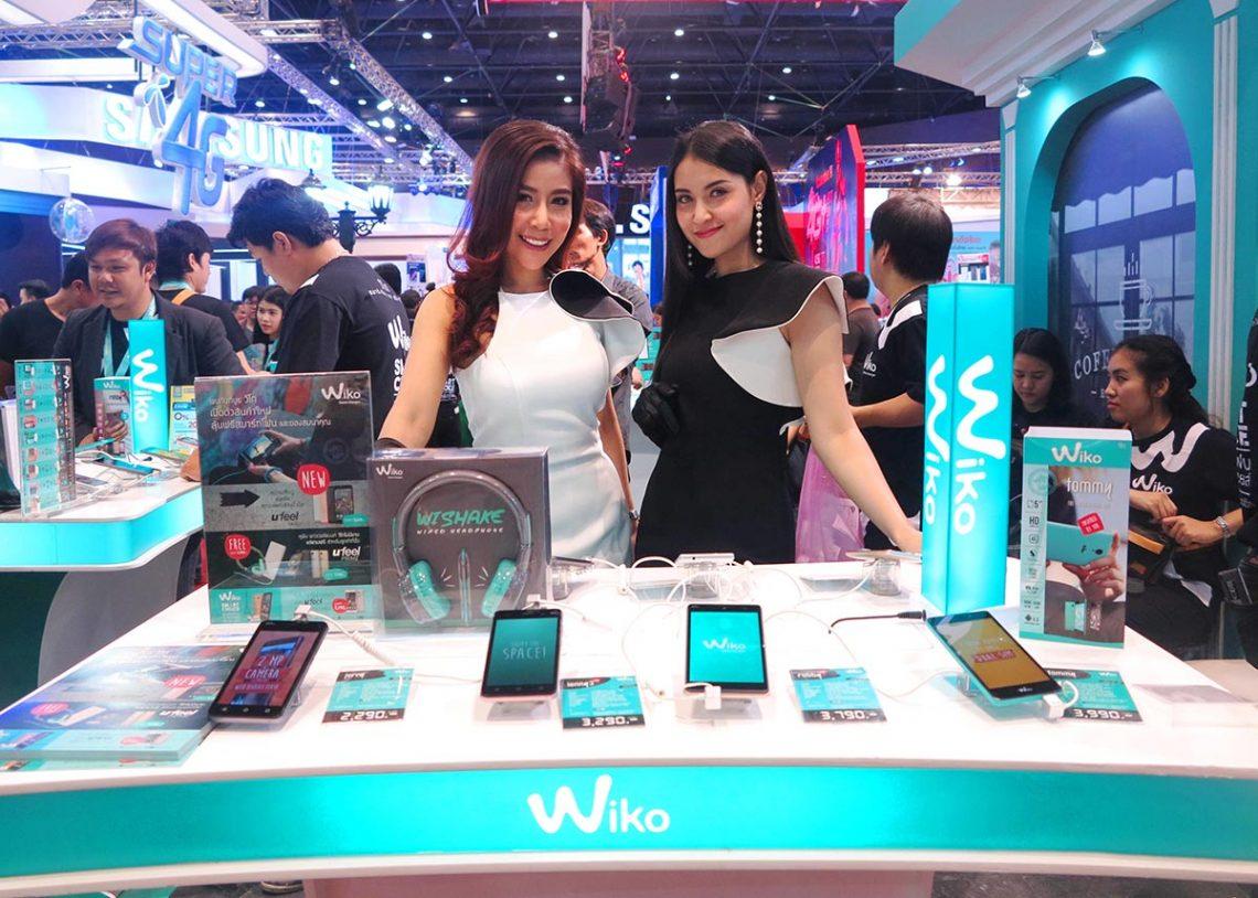 [TME 2017] โปรโมชัน Wiko งาน Thailand Mobile Expo 2017 ของแถมแน่นปึ๊ก!!