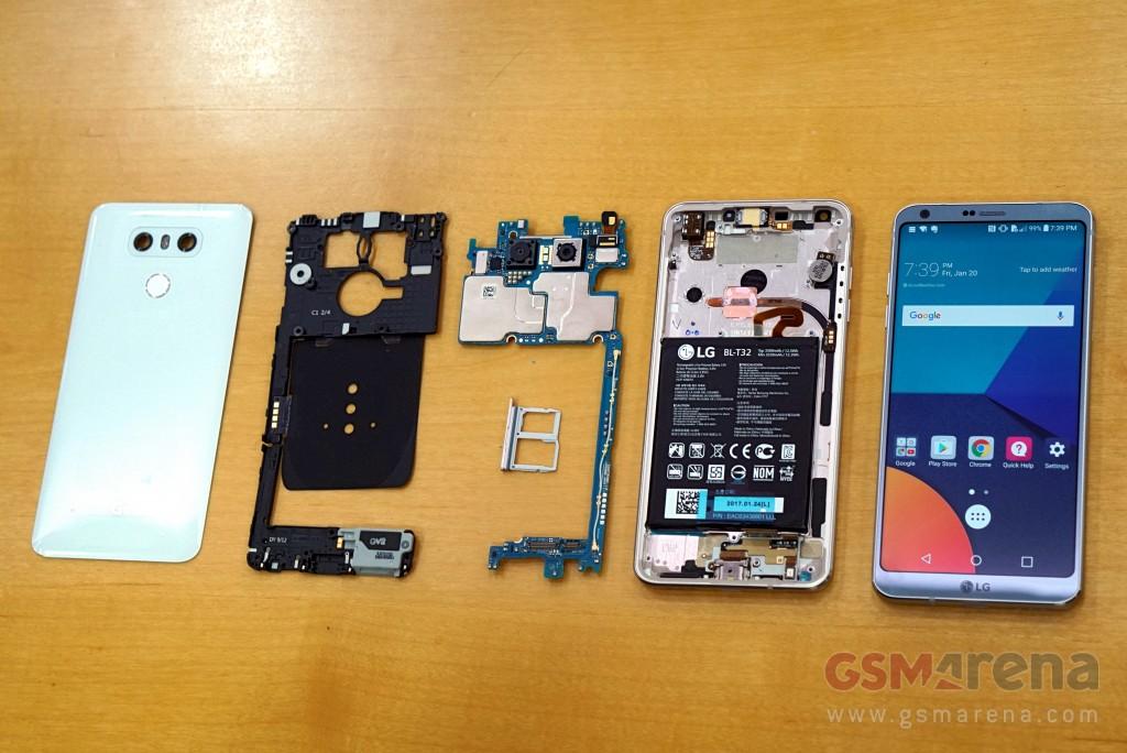 เผยไส้ใน LG G6 พบแผ่นฮีตไปป์ระบายความร้อน คาดราคาราว 25,xxx บาท