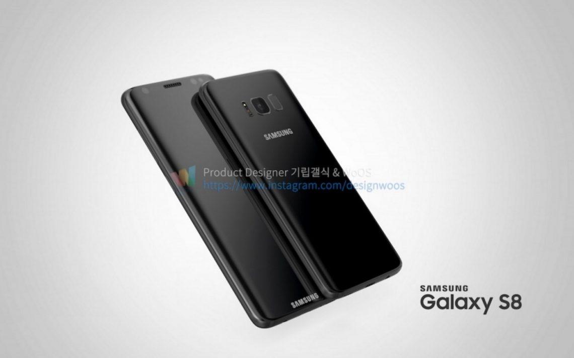 เห็นกันชัด ๆ !! เผยภาพเร็นเดอร์ Samsung Galaxy S8 และ S8 Plus แบบทุกมุม !!