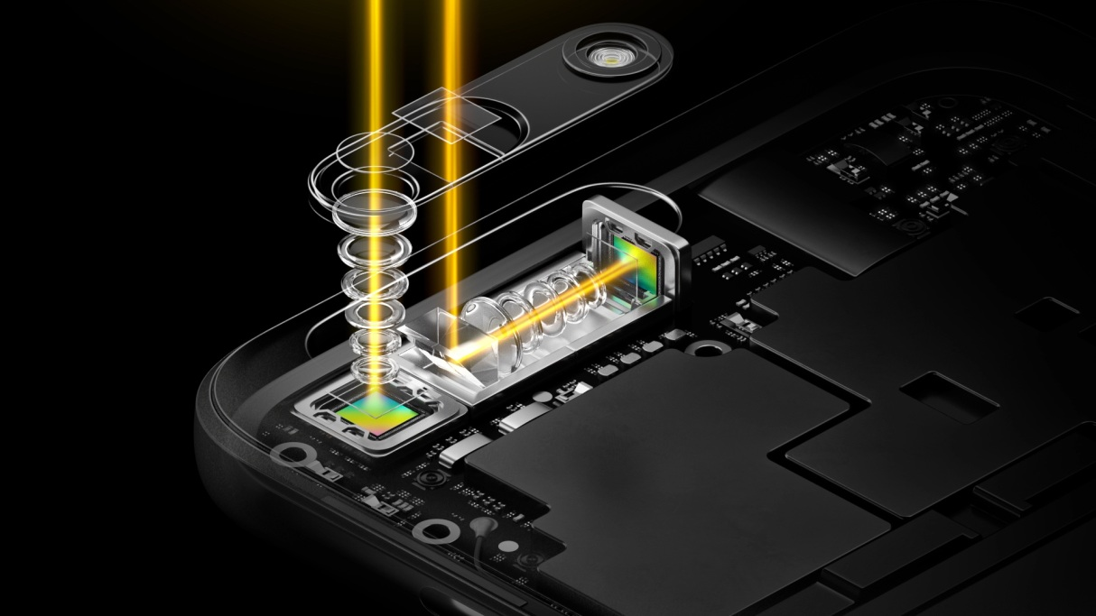 World's first periscope-style dual camera technology by OPPO