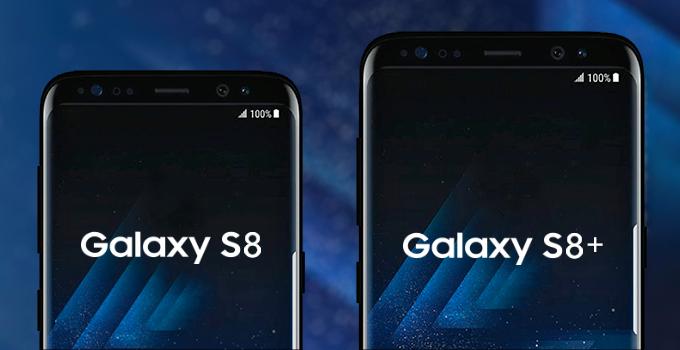 เทียบไซส์ !! Samsung Galaxy S8 และ Galaxy S8+ กับสมาร์ทโฟนรุ่นอื่น ๆ ชูจุดเด่น Infinity Displays !!