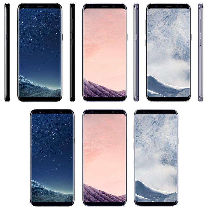 หลุดภาพ Samsung Galaxy S8 มากับสี Black Sky, Orchid Grey และ Arctic Silver และเผยราคาในยุโรป !!