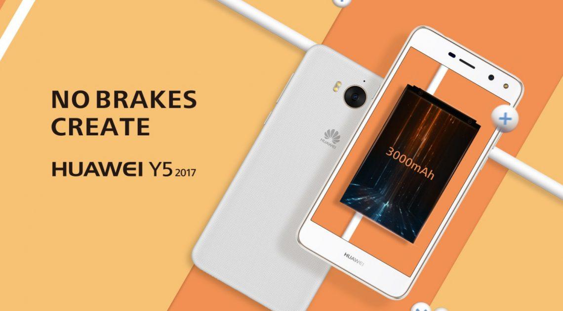 Huawei แอบเปิดตัว Huawei Y5 2017 แบบเงียบ ๆ