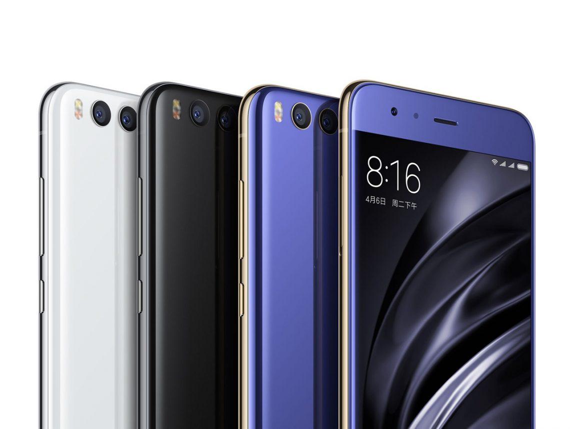 เปิดตัว Xiaomi Mi 6 สเปคจัดเต็ม Snapdragon 835 RAM 6GB กล้องคู่ ราคาเริ่มต้น 12,500 บาท!!!